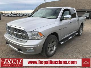 Used 2011 Dodge RAM 1500 BIG HORN CREW CAB SWB 4WD 5.7L for sale in Calgary, AB