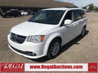 Used 2018 Dodge Grand Caravan SXT Premium Plus WAGON 3.6L for sale in Calgary, AB