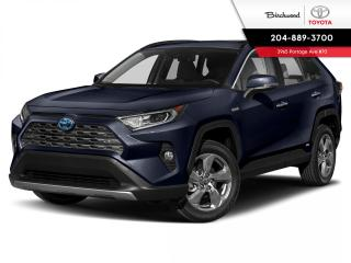 New 2020 Toyota RAV4 Hybrid Limited for sale in Winnipeg, MB