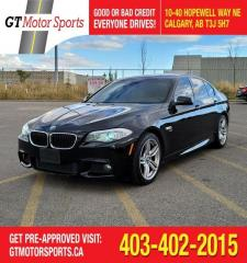 Used 2012 BMW 5 Series 535i xDrive | $0 DOWN - EVERYONE APPROVED! for sale in Calgary, AB