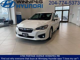 Used 2018 Subaru Impreza Touring for sale in Winnipeg, MB