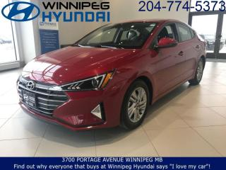 Used 2020 Hyundai Elantra Preferred w/Sun & Safety Package for sale in Winnipeg, MB