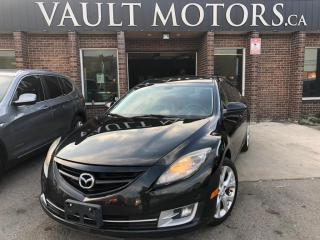 Used 2010 Mazda MAZDA6 GT Leather 1 YEAR ENGINE/TRANSMISSION WARRANTY INCLUDED for sale in Brampton, ON