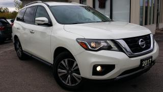 Used 2017 Nissan Pathfinder SL 4WD - LEATHER! 360 CAM! BSM! 7 PASS! for sale in Kitchener, ON