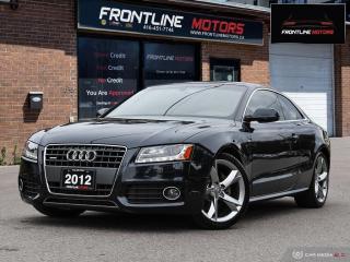 Used 2012 Audi A5 S-Line Cpe Auto 2.0L Premium for sale in Scarborough, ON