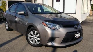 Used 2016 Toyota Corolla LE - BACK-UP CAM! HEATED SEATS! ACCIDENT FREE! for sale in Kitchener, ON