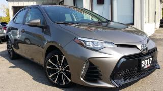 Used 2017 Toyota Corolla SE - BACK-UP CAM! SUNROOF! SAFETY SENSE! for sale in Kitchener, ON