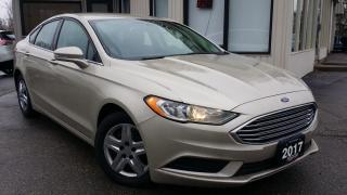 Used 2017 Ford Fusion SE - NAVIGATION! BACK-UP CAM! CAR PLAY! TOUCH SCREEN! for sale in Kitchener, ON