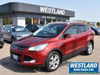 Used 2015 Ford Escape Titanium AWD for sale in Pembroke, ON