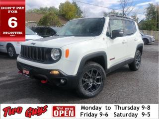 Used 2015 Jeep Renegade Trailhawk   New Tires   Nav   4WD   Remote Start   for sale in St Catharines, ON