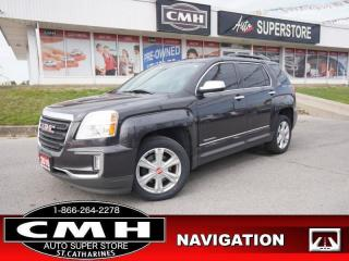 Used 2016 GMC Terrain SLE-2  NAV CAM BT ROOF HTD-SEATS P/SEAT for sale in St. Catharines, ON