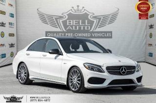Used 2017 Mercedes-Benz C-Class AMG C 43, NO ACCIDENTS, AWD, NAVI, REAR CAM, B.SPOT for sale in Toronto, ON