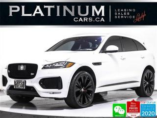 Used 2018 Jaguar F-PACE S, 380HP, NAV, MERIDIAN, 22, BLINDSPOT, VENTILATED for sale in Toronto, ON
