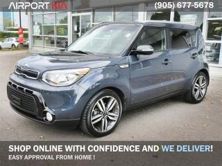 Used 2016 Kia Soul SX Luxury/Leather/Navigation/Lane departure warning/Back-Up Camera/Heated seats/Heated steering/Panoramic Sunroof/Bluetooth for sale in Mississauga, ON