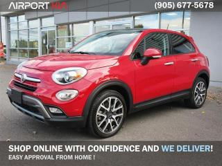 Used 2017 Fiat 500 X Trekking FWD / No Accidents / Power Sunroof / Back-Up Camera/ Remote Starter/Push Start/Bluetooth for sale in Mississauga, ON