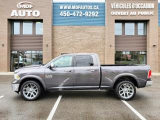 Used 2016 RAM 1500 Laramie Crew Cab Eco-Diesel for sale in St-Eustache, QC