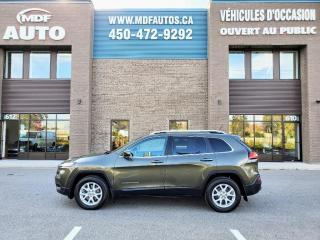 Used 2015 Jeep Cherokee 4 RM, North Edition for sale in St-Eustache, QC
