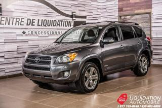 Used 2011 Toyota RAV4 SPORT+AIR+GR ELECT+TOIT+AWD for sale in Laval, QC
