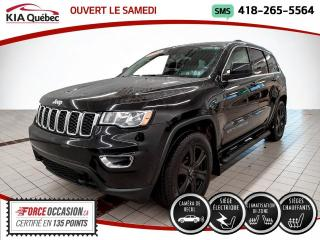 Used 2018 Jeep Grand Cherokee LAREDO* 4X4* CAMERA* SIEGES CHAUFFANTS* for sale in Québec, QC