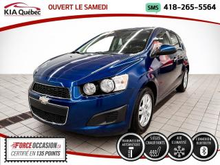 Used 2013 Chevrolet Sonic LT* AT* 5 PORTES* A/C* SIEGES CHAUFFANTS for sale in Québec, QC