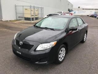 Used 2009 Toyota Corolla Berline 4 portes, boîte automatique, CE for sale in Québec, QC