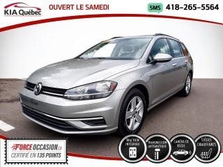 Used 2019 Volkswagen Golf Sportwagen COMFORTLINE* AWD* CAMERA* SIEGES CHAUFFA for sale in Québec, QC