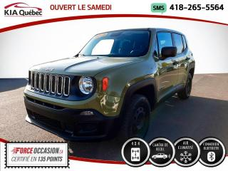 Used 2015 Jeep Renegade SPORT* AUTOMATIQUE* 4X4* CAMERA* for sale in Québec, QC