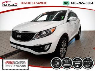 Used 2016 Kia Sportage EX* LUXE* AWD* GPS* CUIR* TOIT PANO* for sale in Québec, QC