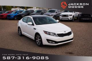Used 2013 Kia Optima EX - One Owner, Accident Free, Low KM for sale in Medicine Hat, AB