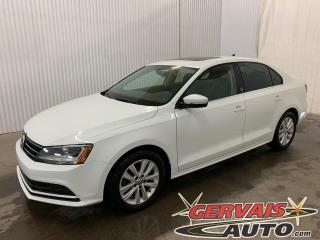 Used 2017 Volkswagen Jetta Wolfsburg Edition Toit Ouvrant Caméra Bluetooth for sale in Shawinigan, QC