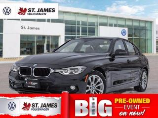 Used 2017 BMW 3 Series 320i xDrive, Clean Carfax, Back Camera, Heated Seats for sale in Winnipeg, MB