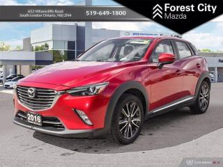 Used 2016 Mazda CX-3 WHITE LEATHER INTERIOR | FULLY LOADED for sale in London, ON