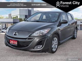 Used 2010 Mazda MAZDA3 GS 2.5l | 2 SETS OF TIRES | SUPER LOW KM for sale in London, ON