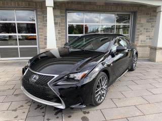 Used 2015 Lexus RC 350 F Sport 3 AWD for sale in St-Eustache, QC