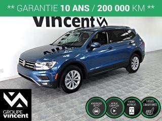 Used 2018 Volkswagen Tiguan TRENDLINE AWD ** GARANTIE 10 ANS ** Offrez-vous le savoir-faire Allemand à bas prix! for sale in Shawinigan, QC
