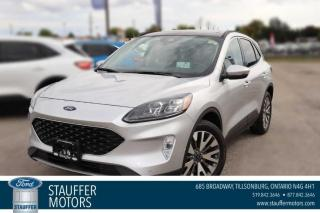 New 2020 Ford Escape Titanium for sale in Tillsonburg, ON