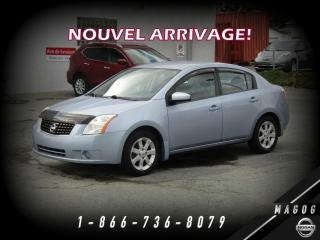Used 2009 Nissan Sentra 2.0 S + BAS KILO + AIR CLIMATISÉ + MAGS for sale in Magog, QC