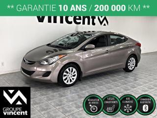 Used 2013 Hyundai Elantra GL ** GARANTIE 10 ANS ** Fiable et abordable, L'Elantra comblera tous vous besoins! for sale in Shawinigan, QC
