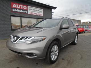 Used 2012 Nissan Murano SL AWD for sale in St-Hubert, QC