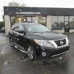 Used 2013 Nissan Pathfinder PLATINUM**NAV/GPS**CUIR**7 PLACES** for sale in St-Hubert, QC