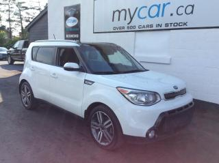 Used 2016 Kia Soul SX Luxury LEATHER, SUNROOF, HEATED SEATS!! for sale in Kingston, ON