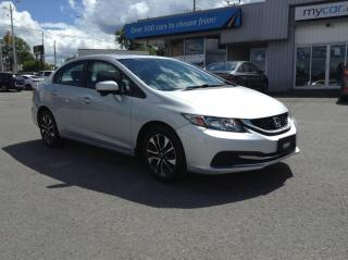 Used 2015 Honda Civic EX SUNROOF, HEATED SEATS, ALLOYS, BACKUP CAM!! for sale in North Bay, ON