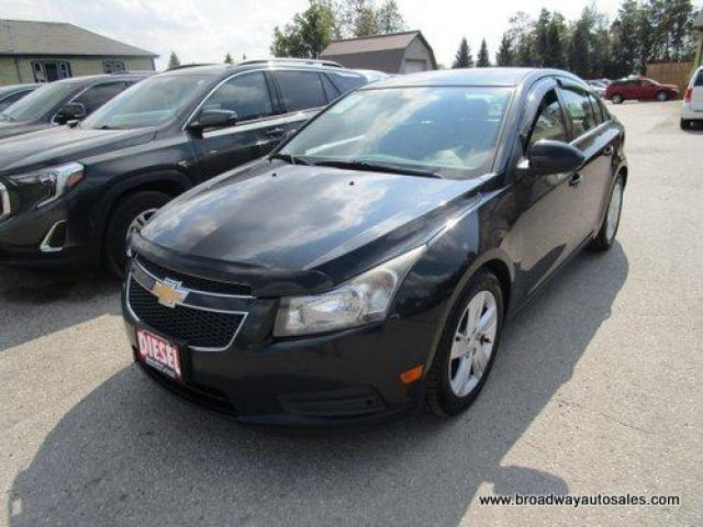 2014 Chevrolet Cruze LOADED LT EDITION 5 PASSENGER 2.0L - TURBO DIESEL.. LEATHER.. HEATED SEATS.. BACK-UP CAMERA.. POWER SUNROOF.. BLUETOOTH SYSTEM.. KEYLESS ENTRY..