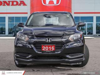 Used 2016 Honda HR-V LX REARVIEW CAMERA WITH GUIDELINES | BLUETOOTH | HEATED SEATS for sale in Cambridge, ON