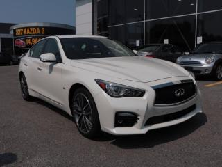 Used 2016 Infiniti Q50 S for sale in Gatineau, QC