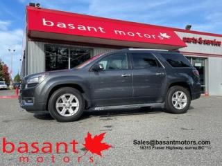 Used 2014 GMC Acadia 7 Passenger, Backup Cam!! for sale in Surrey, BC