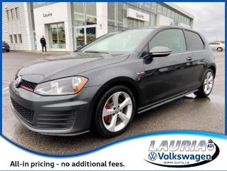 Used 2017 Volkswagen GTI 2DR Manual for sale in PORT HOPE, ON