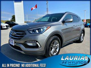 Used 2017 Hyundai Santa Fe Sport 2.4L FWD Premium for sale in Port Hope, ON