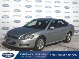 Used 2011 Chevrolet Impala LT - Bluetooth -  OnStar - $100 B/W for sale in Port Elgin, ON