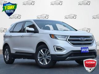 Used 2018 Ford Edge SEL ALL WHEEL DRIVE | LEATHER | SUNROOF | GPS | HEATED SEATS | BACKUP CAM for sale in Waterloo, ON
